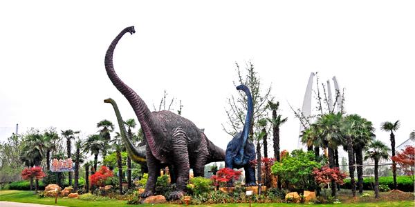 中华恐龙园ppt背景图片下载