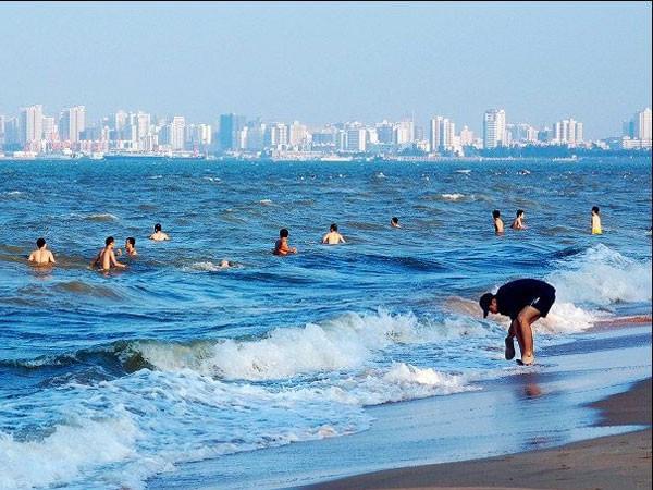 假日海滩ppt背景图片下载_幻灯片模板免费下载