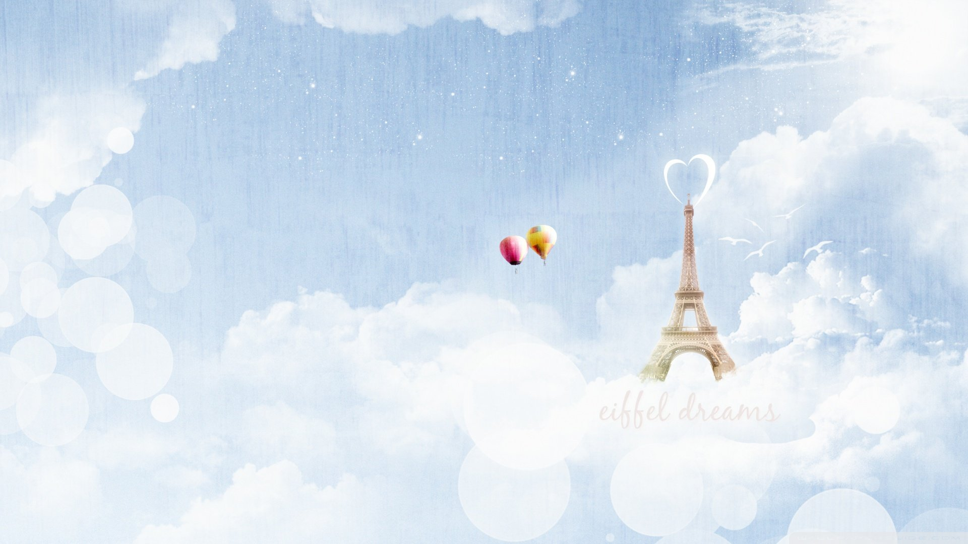 创意十足的云中之塔唯美梦幻ppt背景图片下载_幻灯片