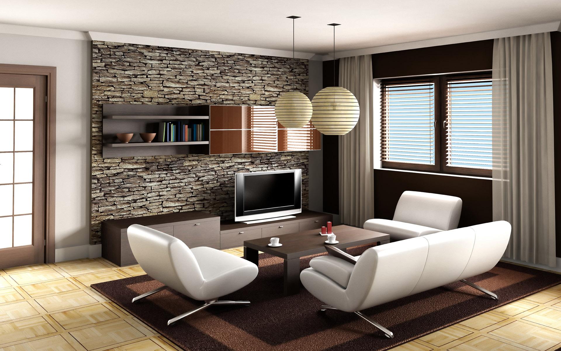 創意室內設計溫馨高雅客廳ppt背景圖片下載