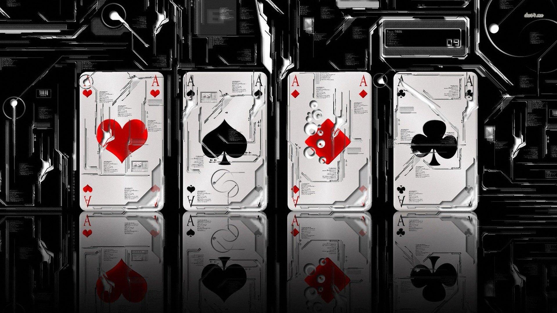 创意扑克牌设计素材ppt背景图片下载