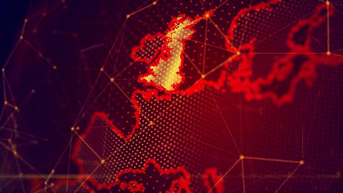 创意网络科技地球ppt背景图片下载_幻灯片模板免费下载