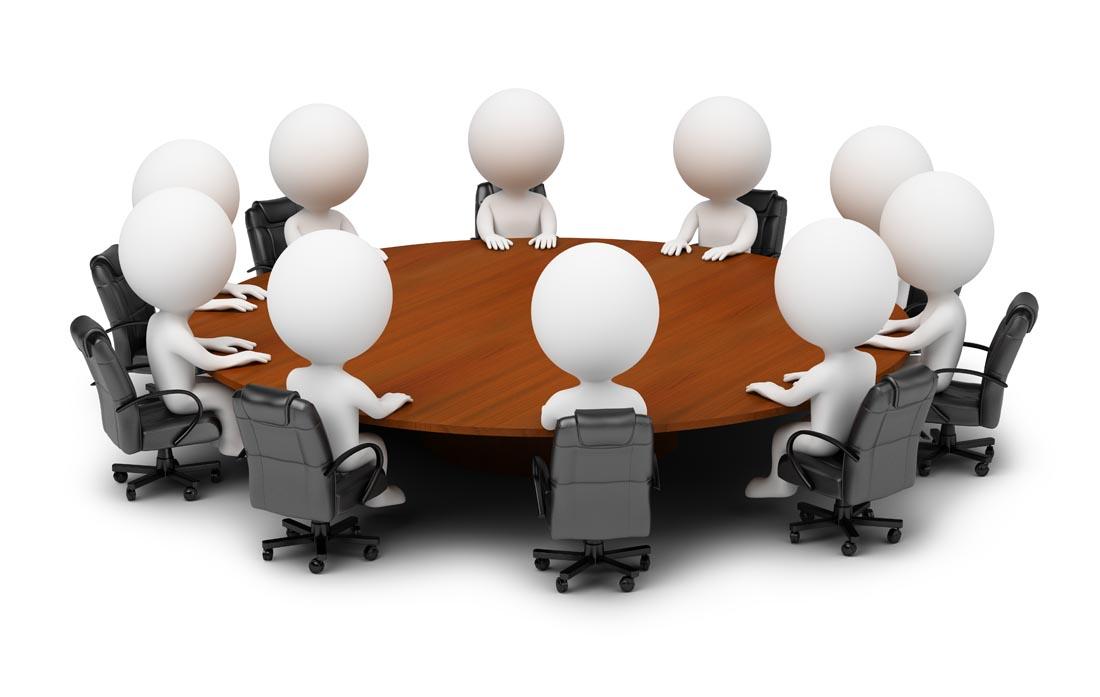 商务3d小人会议ppt背景图片下载