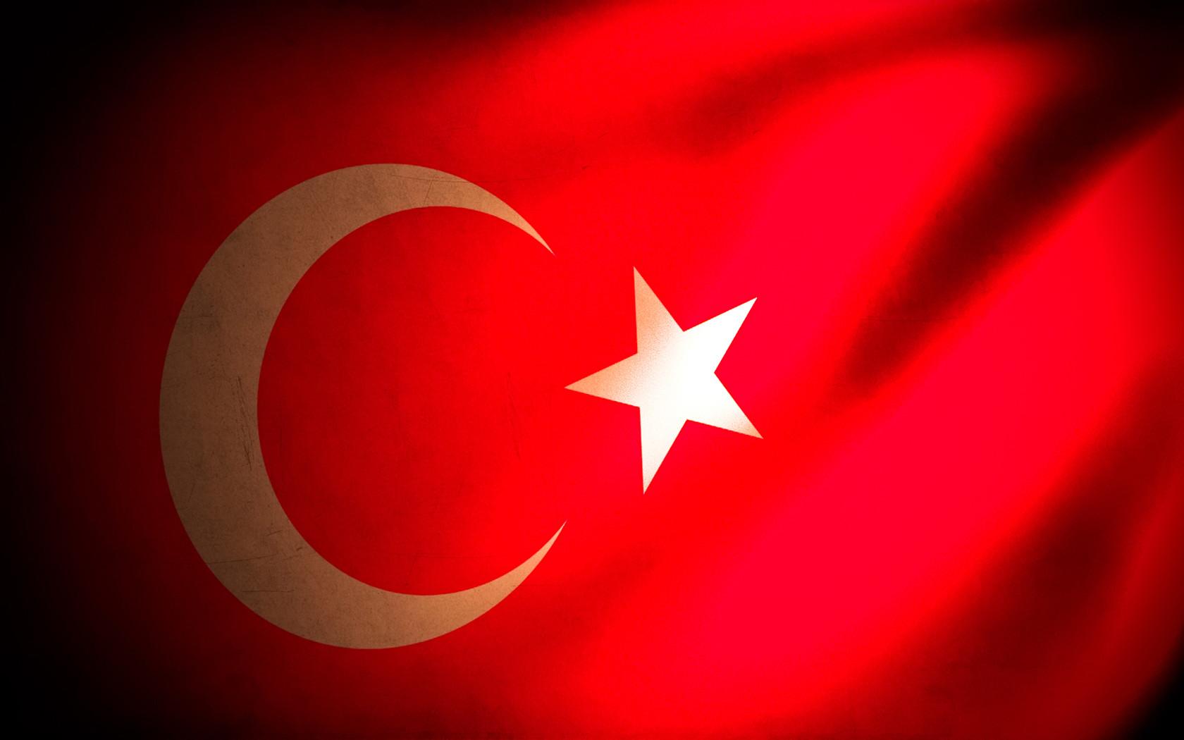 ppt背景 简约ppt背景图片 > 土耳其创意设计ppt背景图片  土耳其国旗