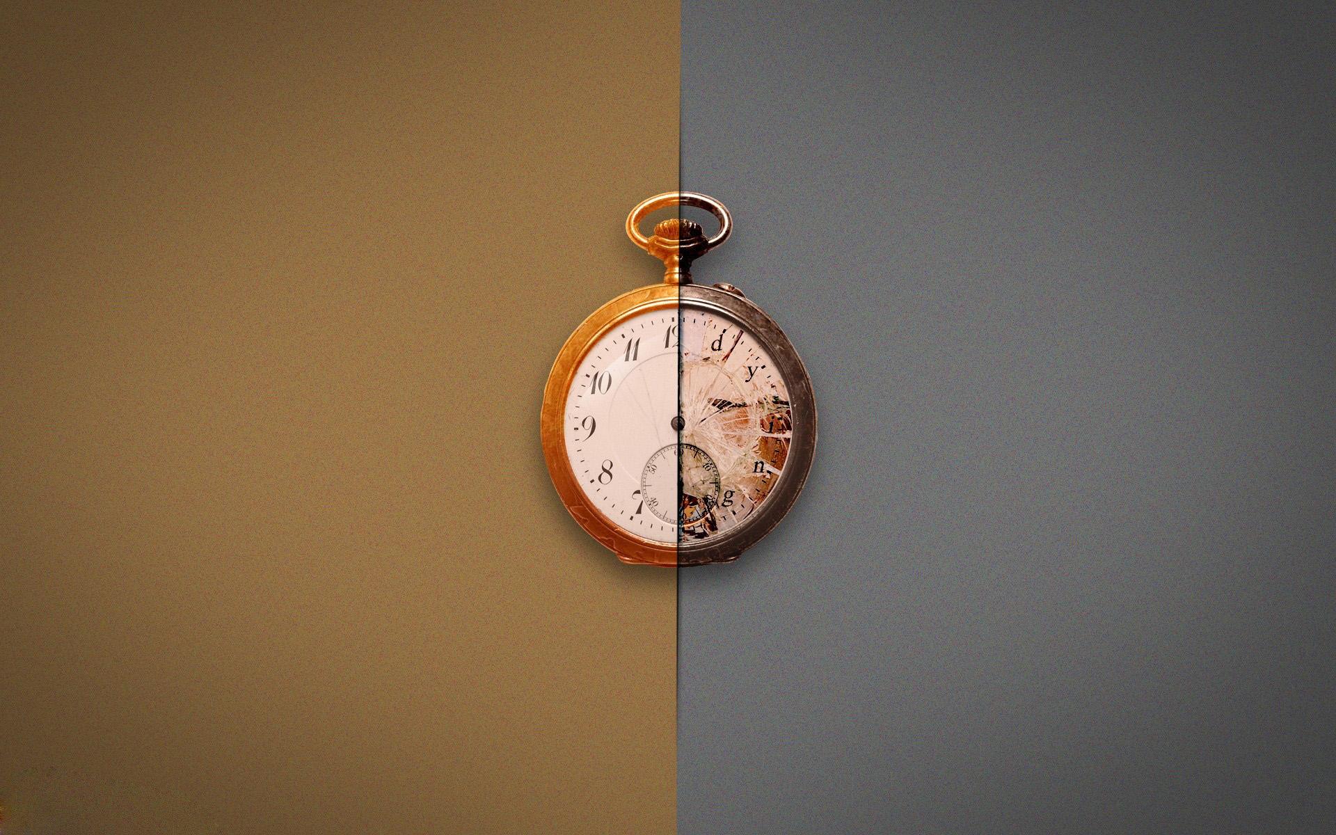 时钟创意ppt背景图片下载_幻灯片模板免费下载