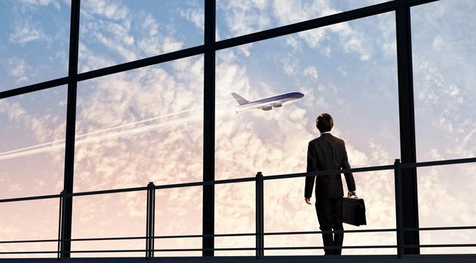 机场商务男士背影高清ppt背景图片下载图片