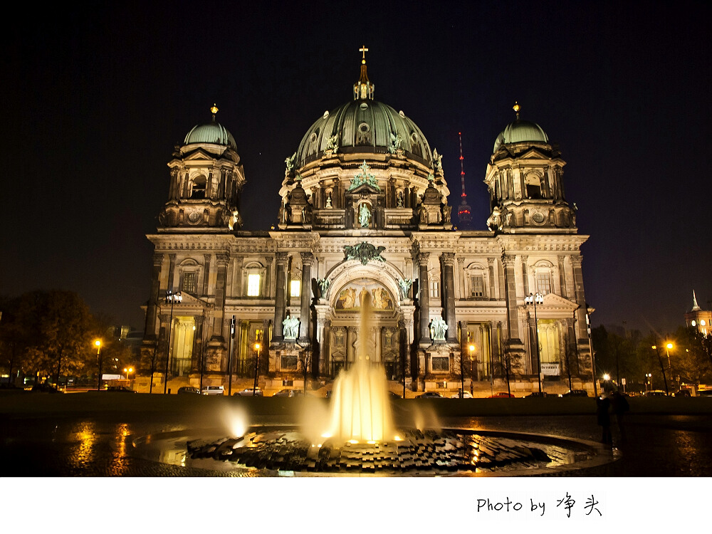柏林大教堂ppt背景图片下载