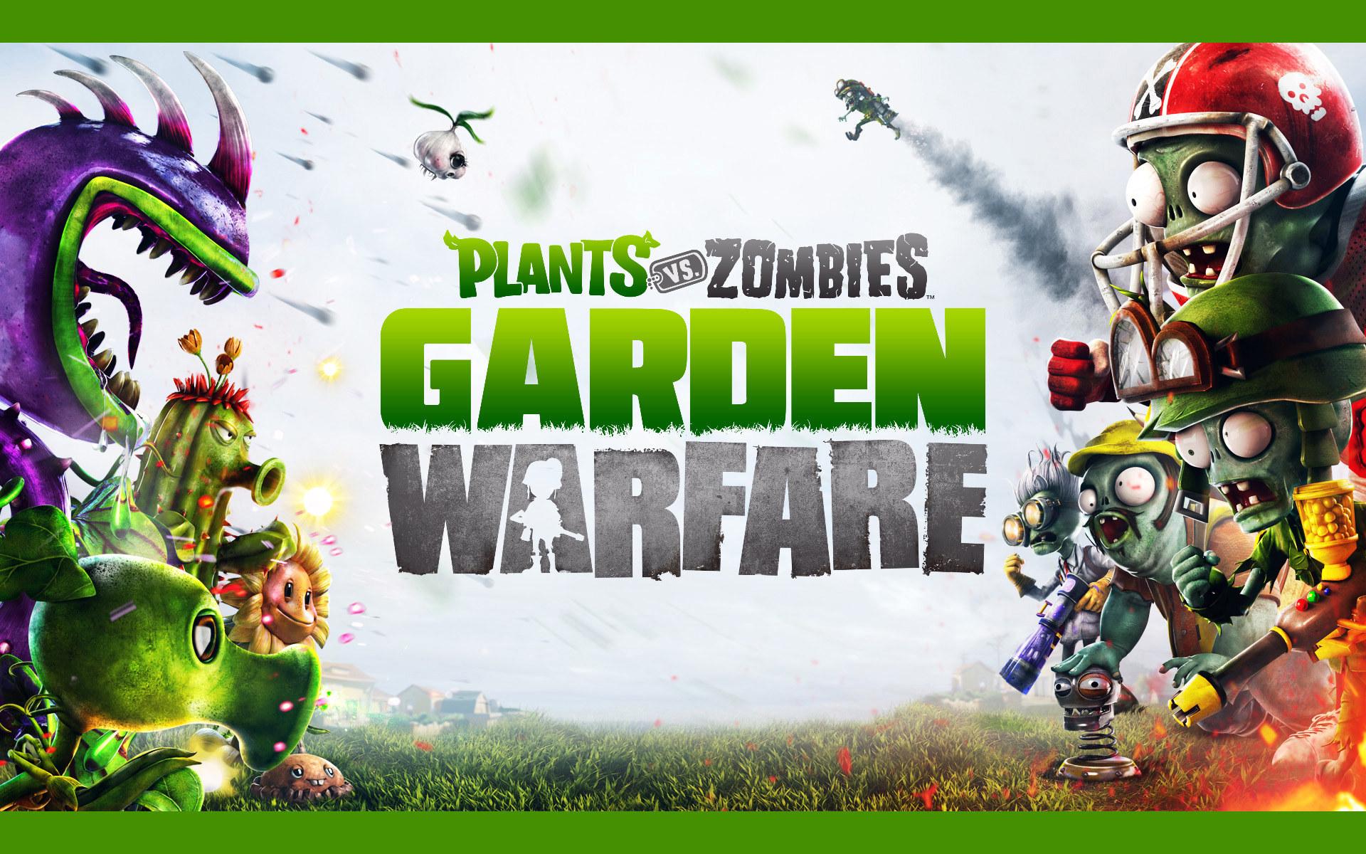 植物大战僵尸:花园战争ppt背景图片下载