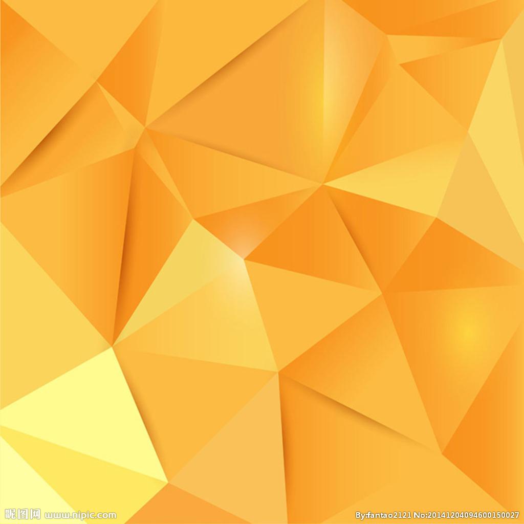 橙色ppt背景图片下载