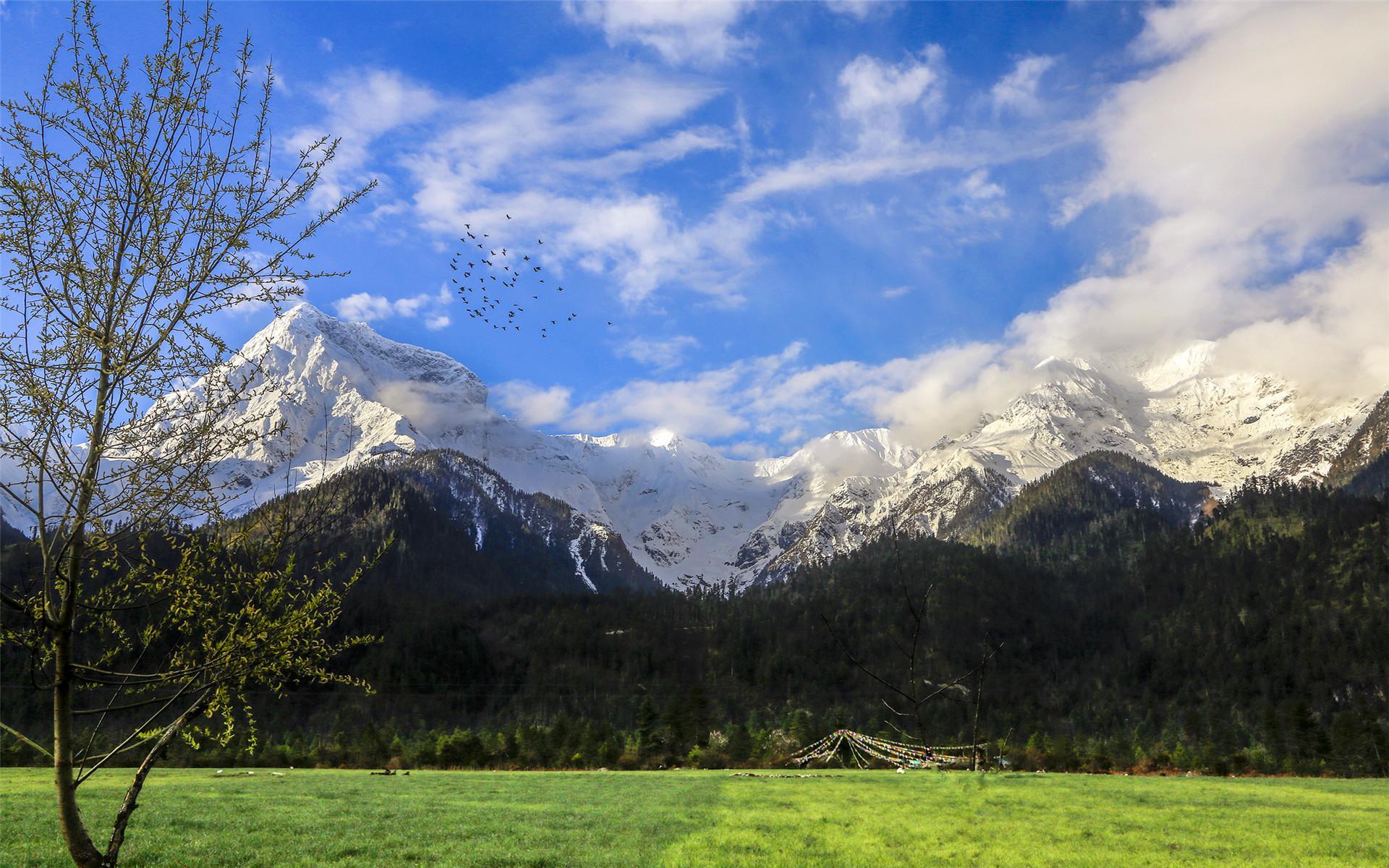 波密PPT背景图片免费下载是由PPT宝藏(www.pptbz.com)会员zengmin上传推荐的风景PPT背景图片, 更新时间为2016-12-08,素材编号114329。 波密县,位于西藏自治区东南部,是西藏商品粮基地县之一,是出口菌类松茸、羊肚菌的重要产地之一,境内海洋型冰川发育极好,有著名的卡钦、则普、若果、古乡等冰川。 盔甲山原名阿里措日。其接近山顶部分全由石板岩层构成,经线长而分明,经风化形成若干层很长的台阶。每年4-5月或9-10月,积雪在石板崖上化掉一部分后,呈现出古代兵勇所披盔甲上的花纹