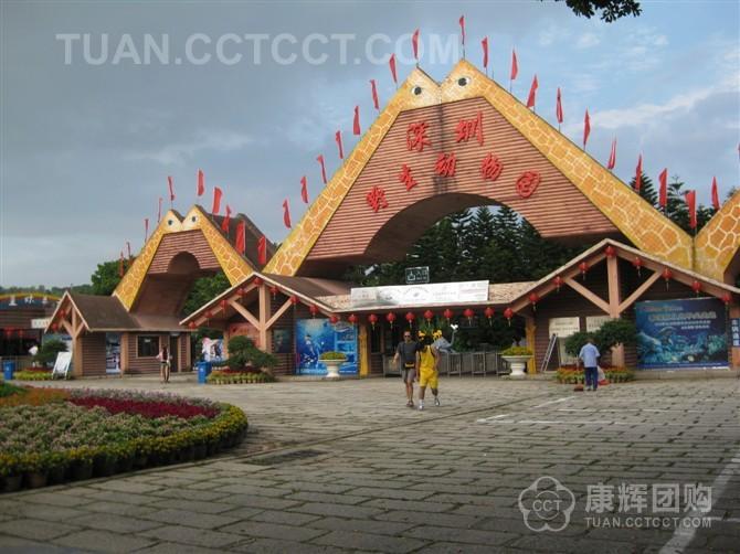 深圳野生动物园ppt背景图片下载
