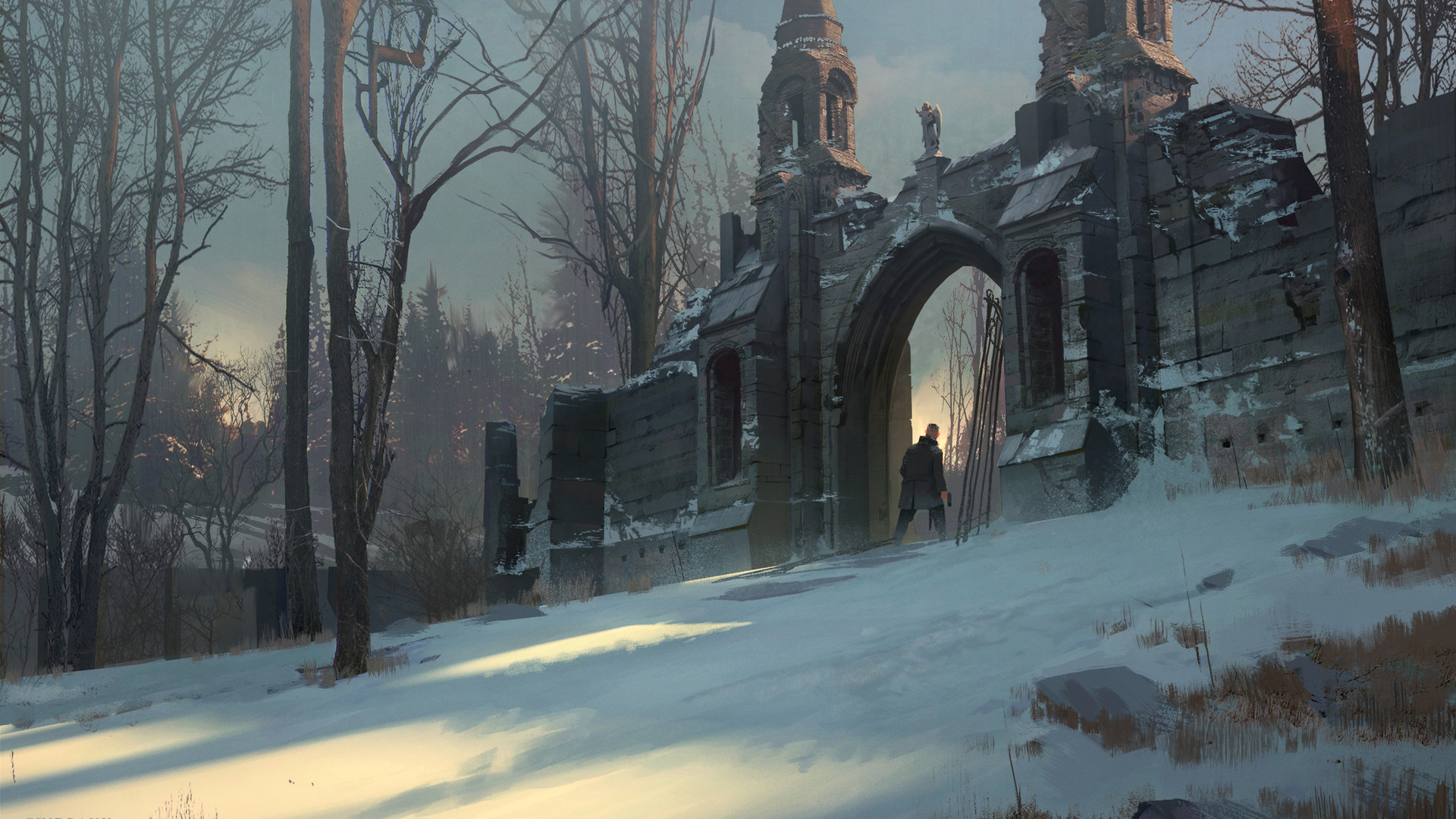 神秘海域4雪山顽皮狗PPT背景图片免费下载是由PPT宝藏(www.pptbz.com)会员zengmin上传推荐的淡雅PPT背景图片, 更新时间为2017-01-15,素材编号119383。 《神秘海域4:盗贼末路》(英语:Uncharted 4: A Thiefs End)是一款即将发行在PlayStation 4上的独占动作冒险游戏。作为索尼E3 2014发布会压轴作品,顽皮狗旗下团队制作的《神秘海域4:盗贼末路(Uncharted 4: A thiefs end)》正式公布。本作预计于201