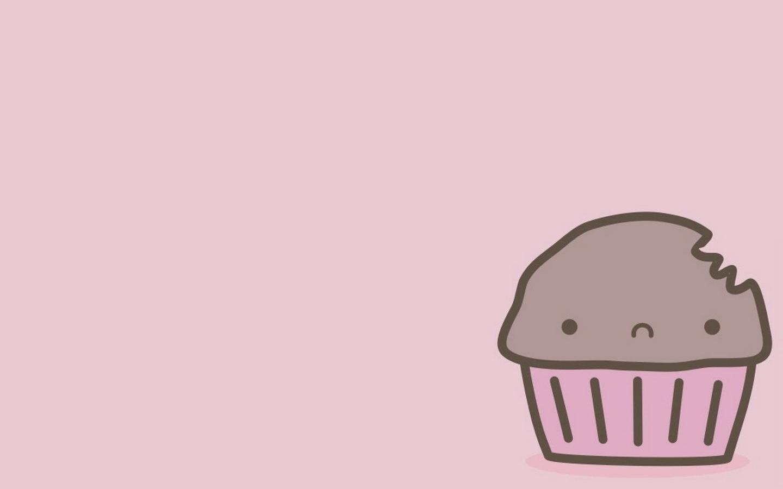 简单可爱之小蛋糕ppt背景图片下载