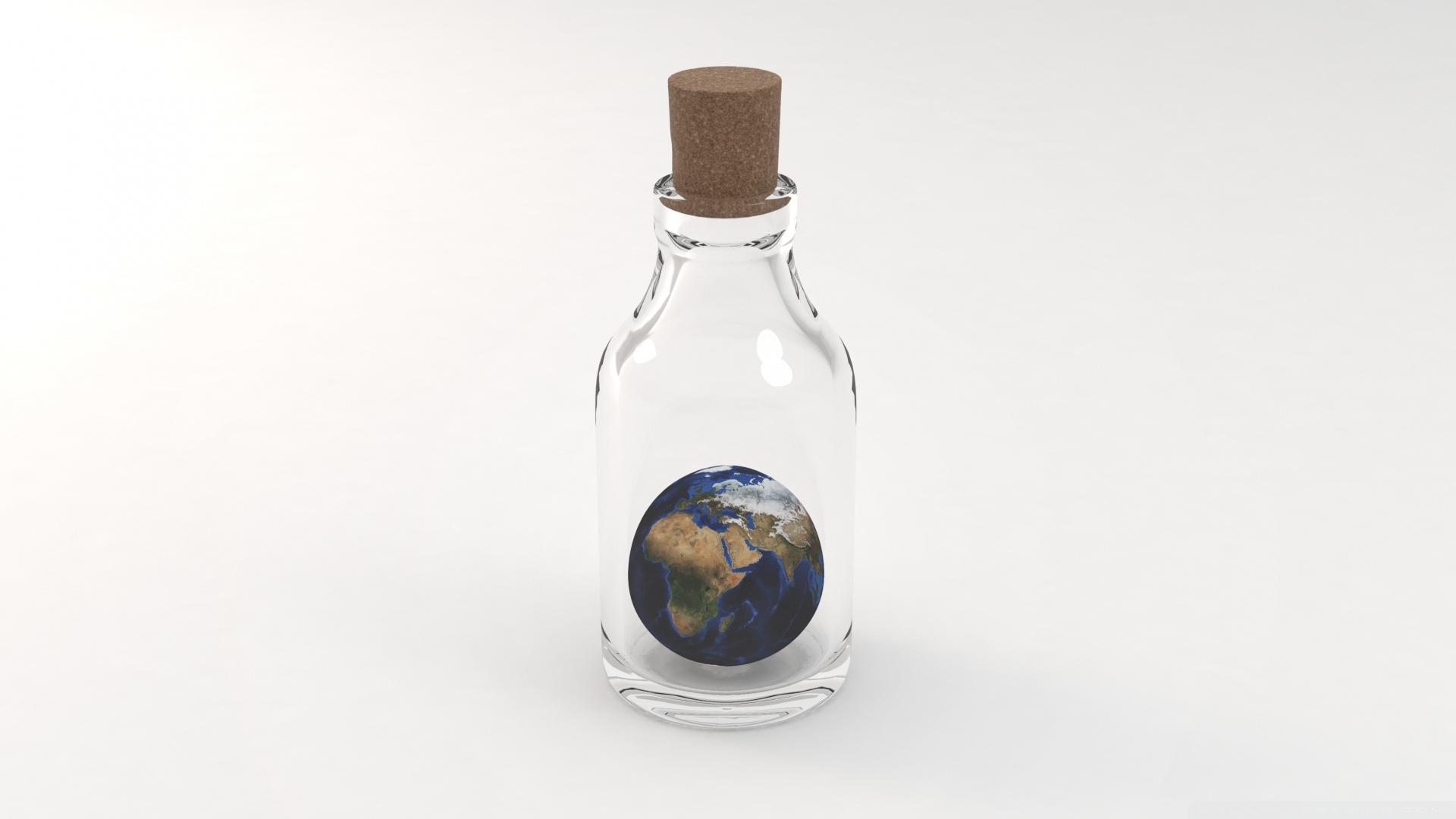 简约又有个性的地球ppt背景图片下载_幻灯片模板免费