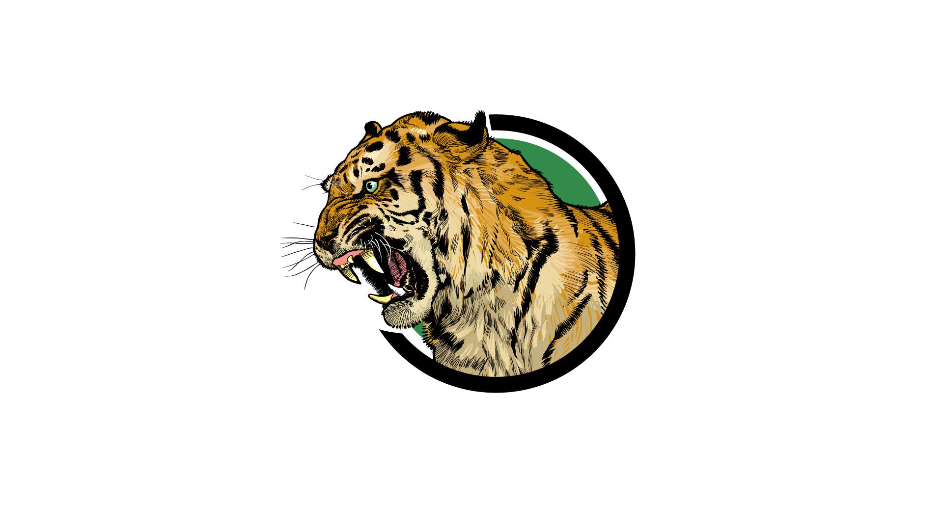 下载地址 精美动物豹插画创意图案ppt背景图片 电信下载2线网通下载1