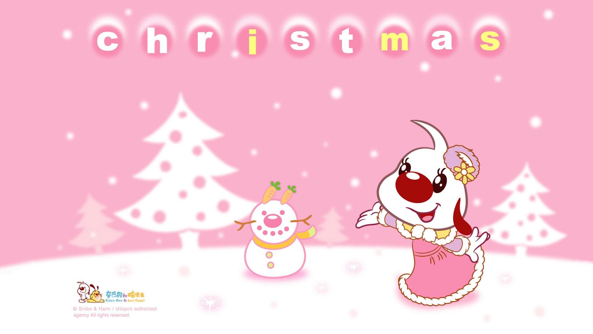 辛巴狗与哈米兔欢乐过圣诞ppt背景图片  上一页:美国动画片《海绵宝宝