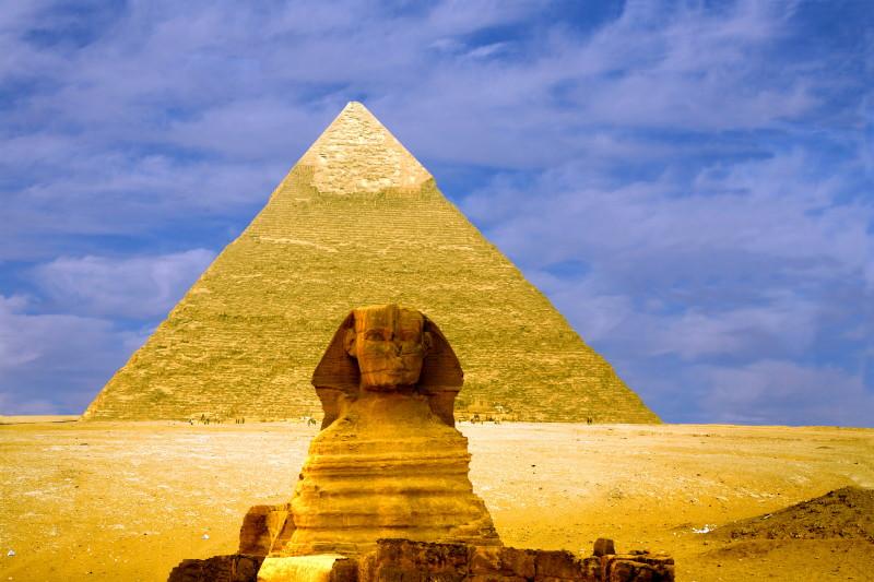 金字塔ppt背景图片下载