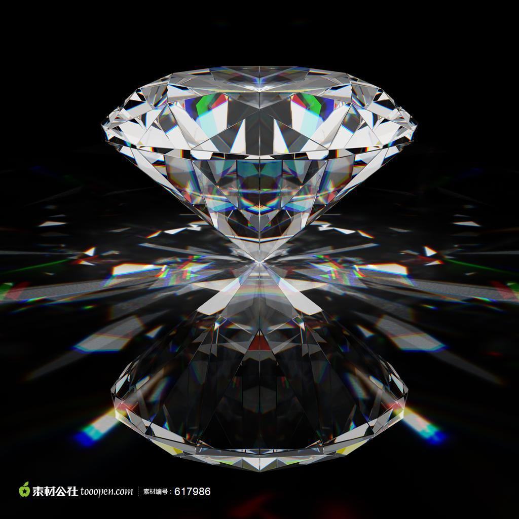钻石ppt背景图片下载