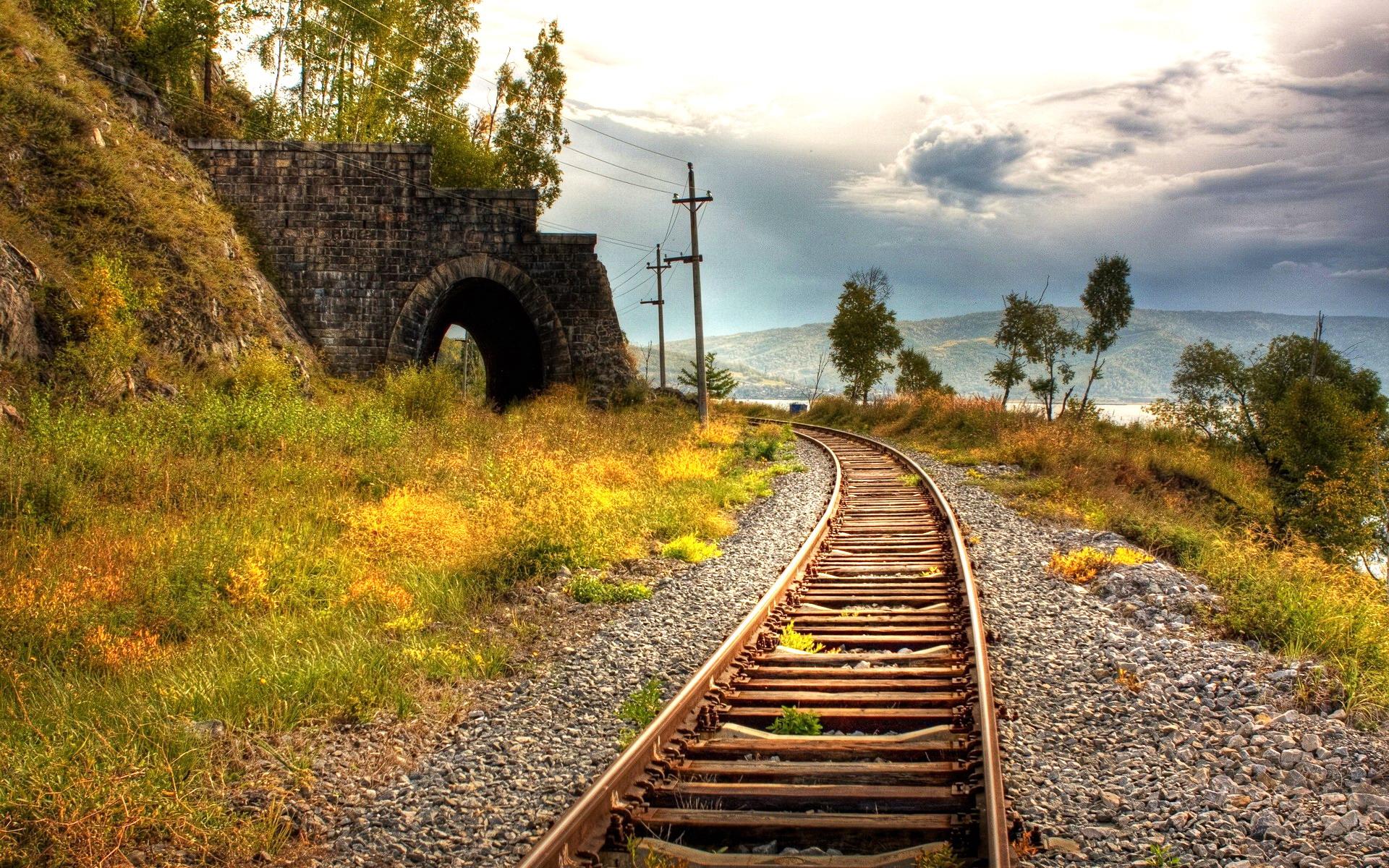 铁路ppt背景图片下载